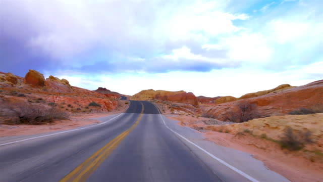 valley of fire state park, nv - nevada video stock e b–roll