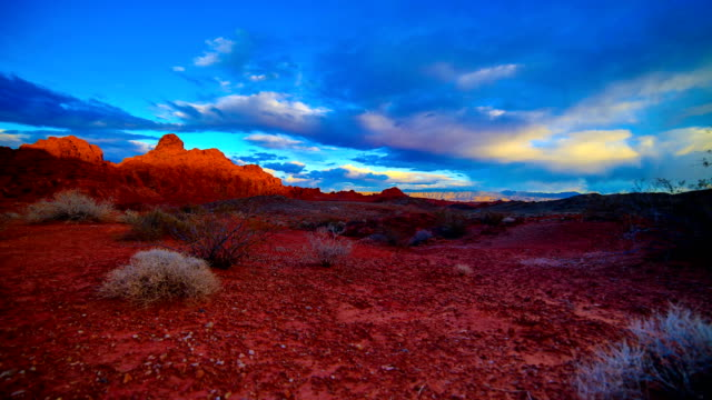 valley of fire state park, nv - red rock video stock e b–roll