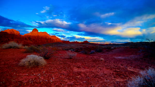 valley of fire state park, nv - red rock canyon national conservation area video stock e b–roll