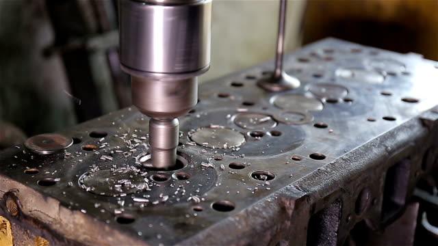 Valve seat grinding machine video