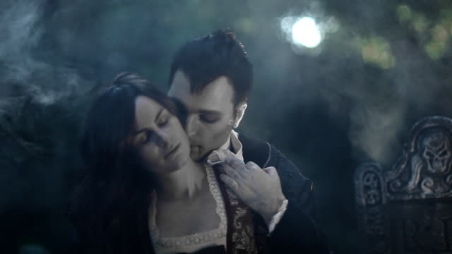 Vampire Kiss http://www.lisegagne.com/louis/characters.jpg count dracula stock videos & royalty-free footage