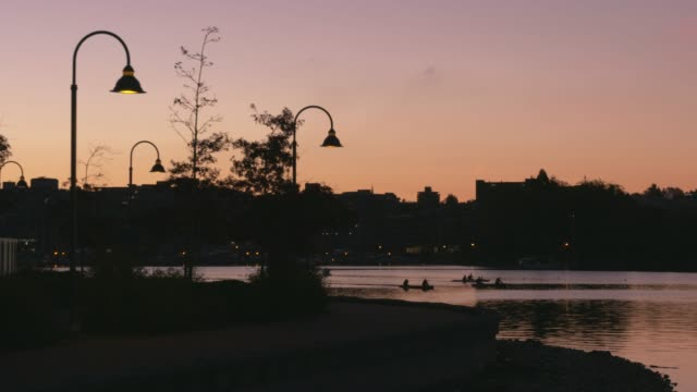 Vancouver, False Creek, Morning Workout video