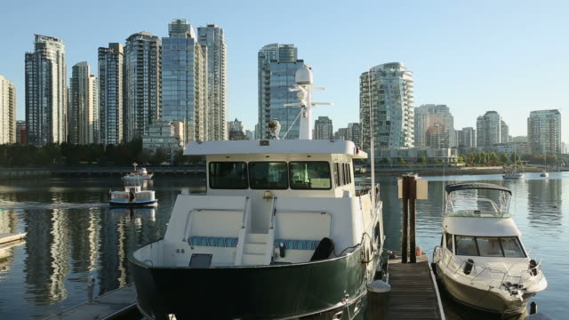 Vancouver Marina, Yaletown View video
