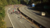 istock WEST VANCOUVER BC - SEPT 6 2014 Vancouver to Whistler bicycle road bike race on Sea to Sky Highway. 1253171805