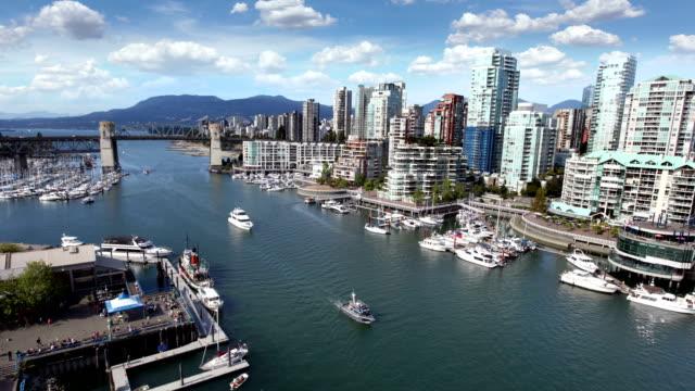 vancouver waterfront, canada - strandnära bildbanksvideor och videomaterial från bakom kulisserna