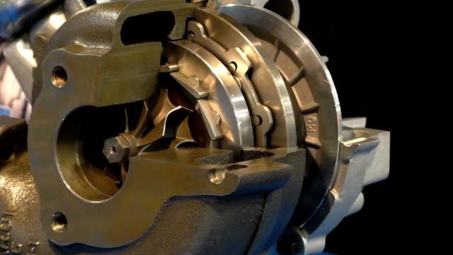 Variable vane working turbocharger loop video