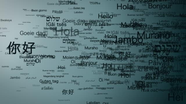 Video Various languages