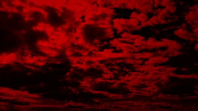 stora röda molnlandskap - illavarslande bildbanksvideor och videomaterial från bakom kulisserna