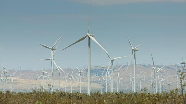 Vast Wind Farm in Mojave Desert video