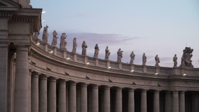 vatikan meydanı - vatikan şehir devleti stok videoları ve detay görüntü çekimi