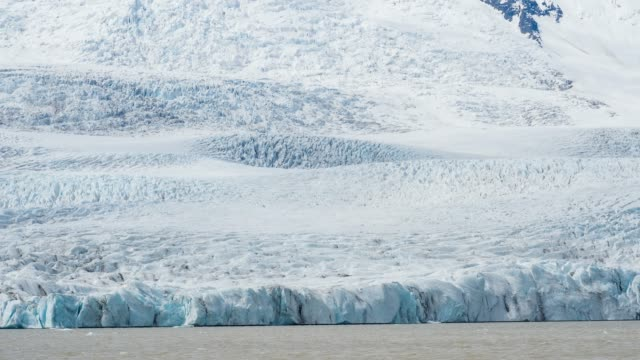 Vatnajokull glacier in Iceland, the largest ice cap in Europe View of Vatnajokull glacier in Iceland, the largest ice cap in Europe icecap stock videos & royalty-free footage