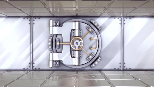Vault door opening video