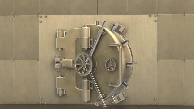 stockvideo's en b-roll-footage met gewelf gevuld met goudstaven - boog architectonisch element