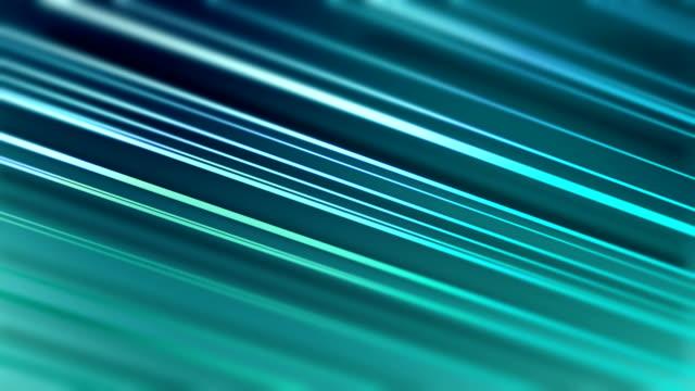 vídeos de stock, filmes e b-roll de linhas diagonais do vetor no fundo borrado - azul turquesa