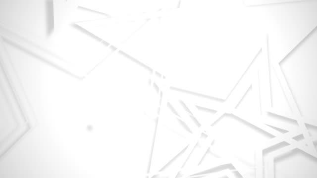 ベクトルのみ星ホワイト - 清らか点の映像素材/bロール
