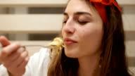 istock Vegan food are very tasty-spaghetti with vegetables 1127195780