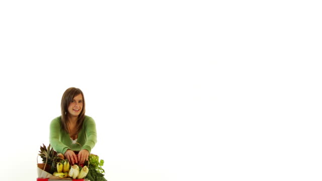 Vegetable Funny Face video