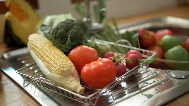 Vegetables. Close-up