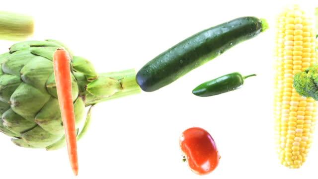 Vegetables HD video