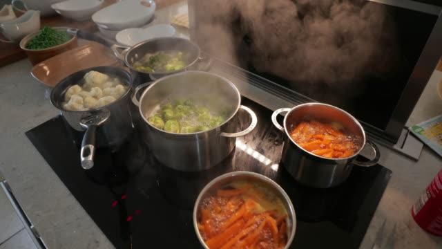 Veggies Getting Boiled
