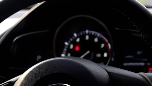 Vehicle Turn Signal Indicator Car Dashboard With Blinking