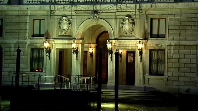 Venice, building Grassi video