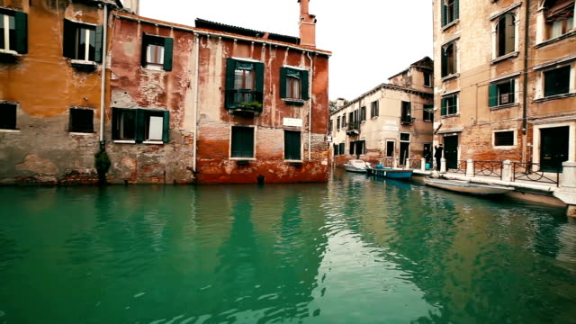 Venice Canal in Spring video