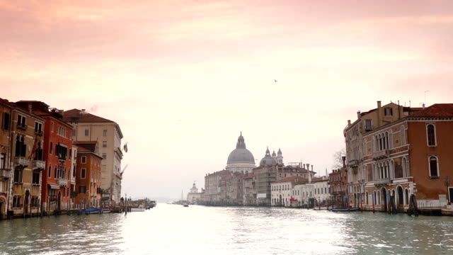 Venice -Grand canal - view from on the water video