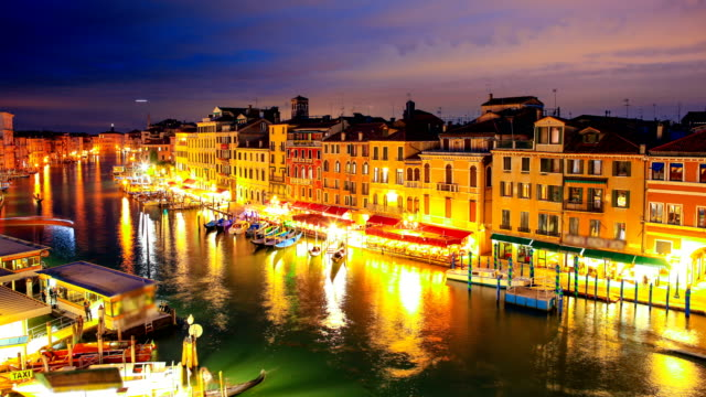 Venice, Italy Night Time Lapse