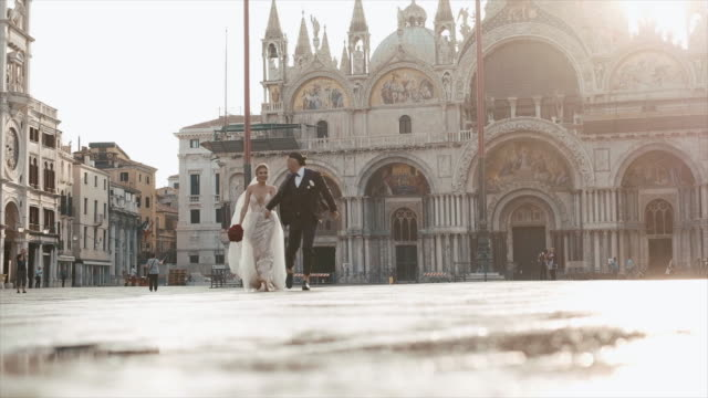 Venice. Walk For Newlyweds.