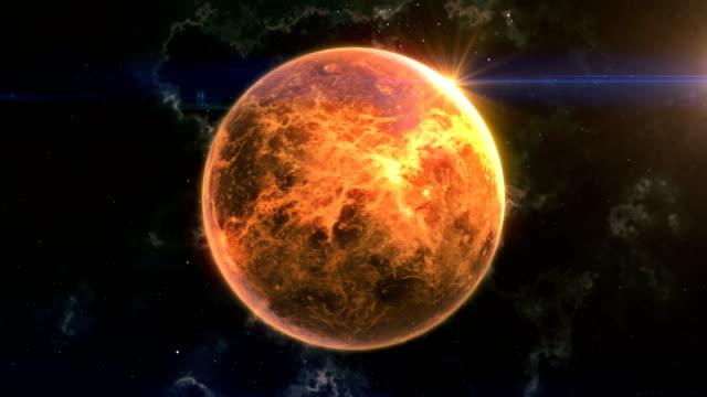 venus reveal in space - venus filmów i materiałów b-roll