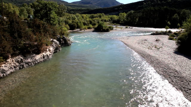 HD Verdon River Flowing