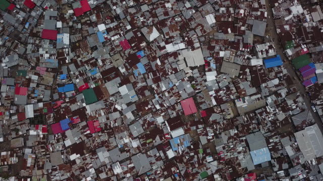 Vertical Aerial Of Massive Dense Slum Twisting Down Vertical Aerial Of Massive Dense Slum Twisting Down developing countries stock videos & royalty-free footage