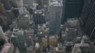 istock Vertical panorama over New York city buildings 593990930