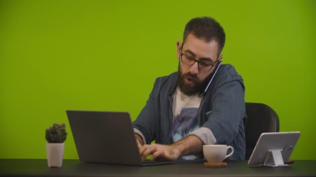 Very busy man