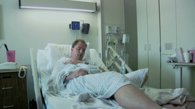 Very Sick in Hospital Bed video
