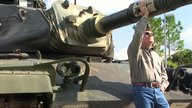 Veteran and Tank video