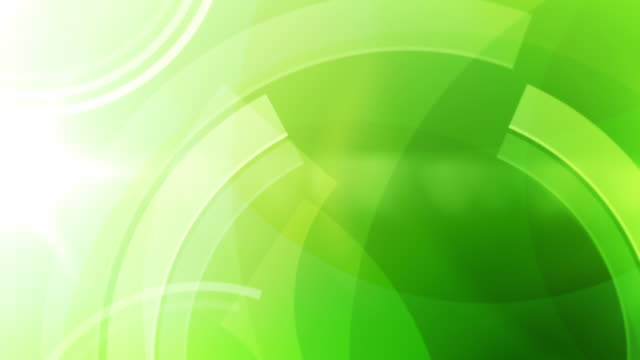 Best Vibrant Colourful Circles Background Loop Green Full Hd Stock