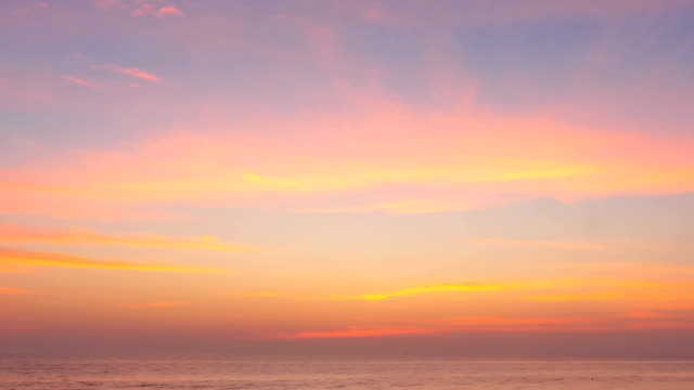 Vibrant Mexican Sunrise Time lapse sunrise over the pacific ocean. sunrise dawn stock videos & royalty-free footage
