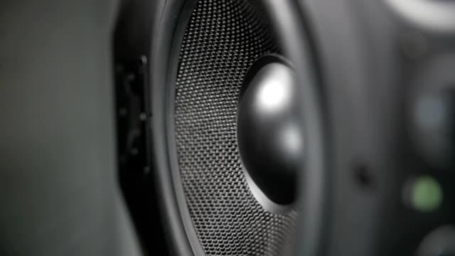 Vibrating Working Speaker video