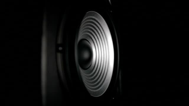 Vibrierende Lautsprecher arbeiten – Video