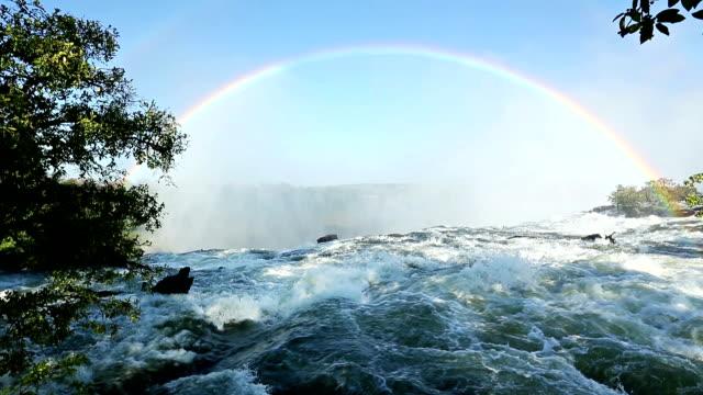 Victoria Falls Rainbow video