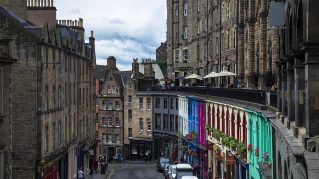 Victoria Street, Edinburgh - Time Laose video