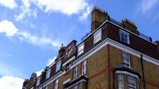 victorian houses in london - victorian architecture stock videos & royalty-free footage
