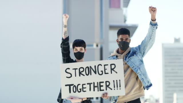 Victory belongs to us, not the virus!