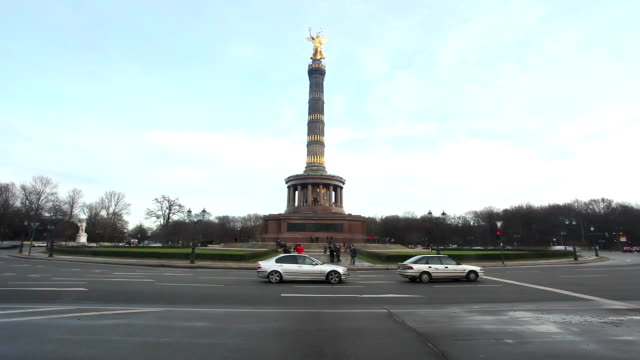 Victory Column in Berlin, Time Lapse video