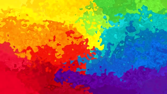 video animated splotch background rainbow colored splotch - sfondo multicolore video stock e b–roll