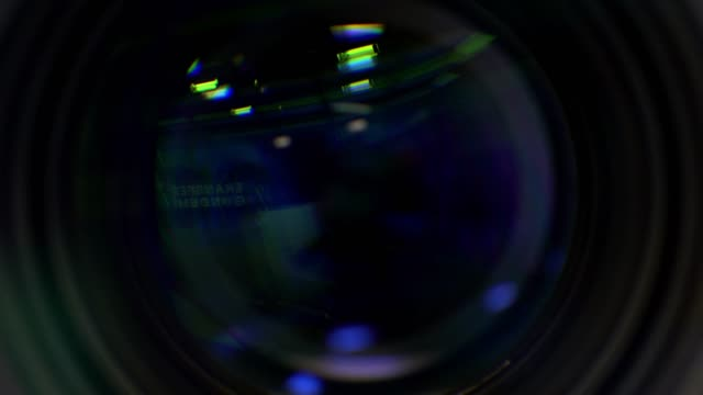 Video camera - using the Zoom and Focus