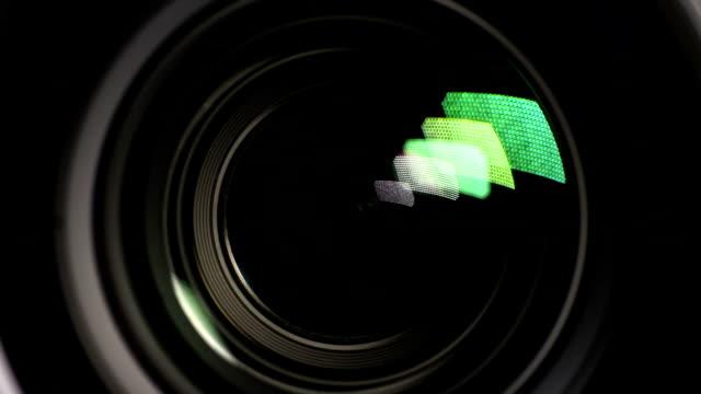 vidéos et rushes de caméra vidéo - verre optique