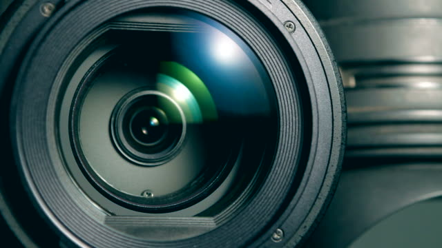 Video camera zoom Video camera, using the zoom camera photographic equipment stock videos & royalty-free footage